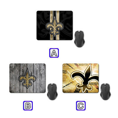 Orleans Saints American Football Mouse Pad Mat Computer Mice Mousepad