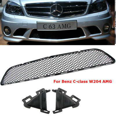 Car Grill AMG Front Bumper Center Mesh Grille C300 C350 For Mercedes-Benz W204