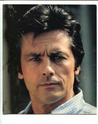 Alain Delon 6.25x7.5  Promo Still Color Headshot
