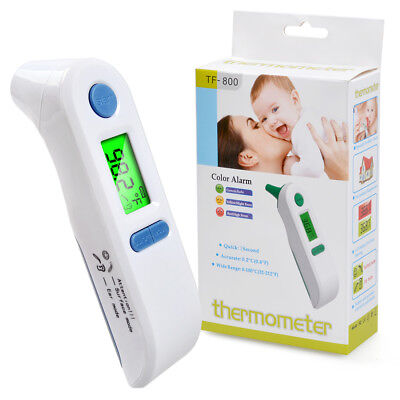 Thermometer Digital Fever Body Care Temperature Infrared Ear Forehead  Baby & Ad