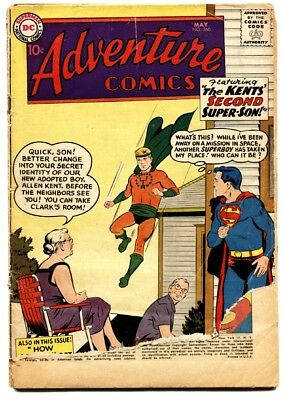 Adventure Comics #260 1959 DC First Silver Age Aquaman origin issue
