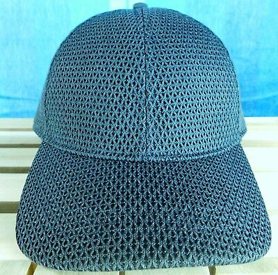 Reflective Lululemon Black Mesh Baller Hat Flare One Size Fits Most Adults New!