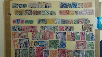 Costa Rica classics stamp collection on 4 stock sheets