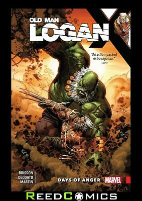 Wolverine Old Man Logan Volume 6 Days Of Anger Graphic Novel (2016) #25-30