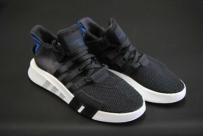 75ade3d54446  Cq2994  New Men s Adidas Originals Eqt Bask Adv Knit Carbon Real Purple  Adm203