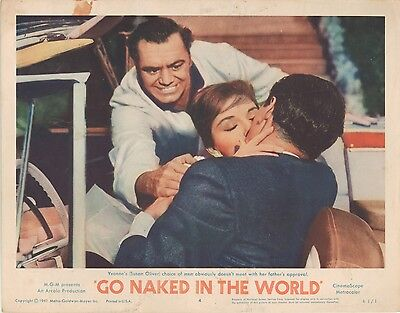 Go Naked in the World 1961 11x14 Lobby Card #4