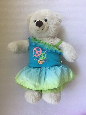 Authentic Build a Bear Party Outfit: Off Shoulder Top, Frill Skirt #SundayMarket