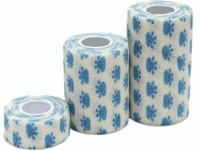 Btter Cohesive Bandages Paw Print Box Of 10