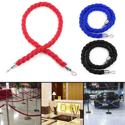 1.5m Twisted Barrier Rope Queue Twisted VIP Red for Posts Stands High Quality UK