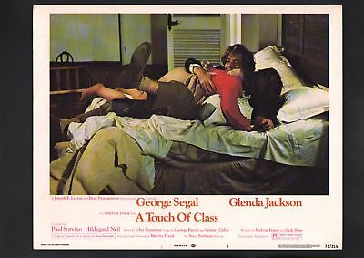 A Touch of Class Lobby Card #8-1973-George Segal
