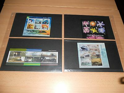 2004 Miniature Sheets Complete Issue M/S22 to MS/25 – MS2423, 2462, 2454 & 2501
