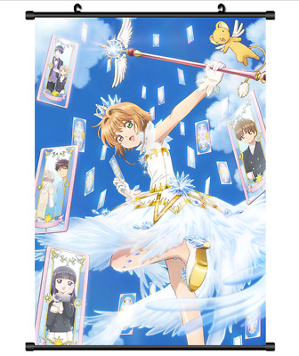 "Hot Japan Anime Card Captor Sakura Home Decor Poster Wall Scroll 8""x12"" FL946"