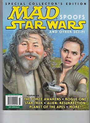 Mad Spoofs Star Wars Mad Magazine 2017 Special Collector's Edition Daisy Ridley