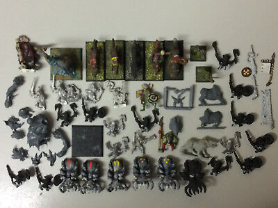 WHFB Warhammer Oldhammer Orcs Goblins and Trolls bits and pieces oop