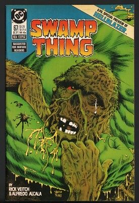 SWAMP THING #67-1987-HIGH GRADE HELLBLAZER 6 pg preview-nm