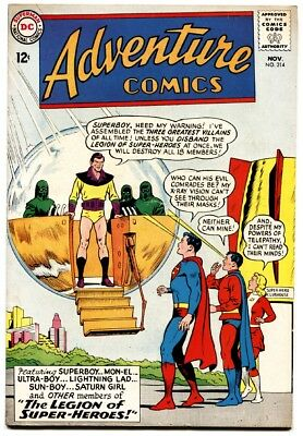 Adventure Comics #314-DC Comics-legion-superboy dc Vg/fn