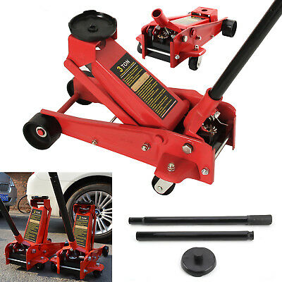 3 Ton Hydraulic Floor Trolley Jack Tonne Lifting Heavy Duty Car Van Lifting