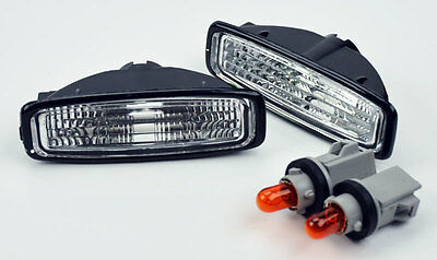 JDM Side Euro Clear Marker Repeater Lights Sockets Bulbs for Honda Accord 94-97