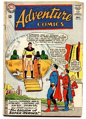 Adventure Comics #314 comic book-dc Comics-legion-superboy