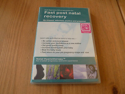 Self Hypnosis CD Program For Fast Post Natal Recovery CD
