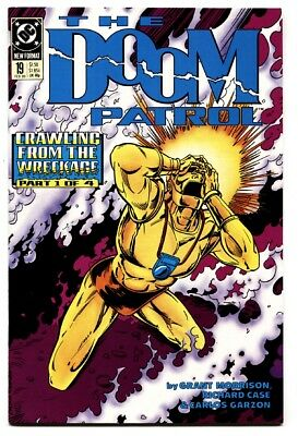 DOOM PATROL #19 comic book-1989 First appearance of CRAZY JANE