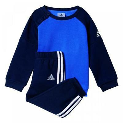 Adidas Baby Infant Kids Boys Toddler Tracksuit Set Play Gym Cotton/poly Bp5285