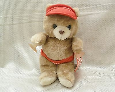 1988 Coca-Cola Critters Plush Toy Cody the Bear