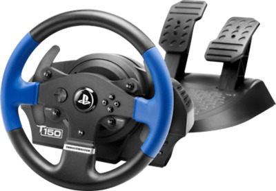 Volante con Pedales THRUSTMASTER T150 FORCE FEEDBACK PS4 PS3 Windows