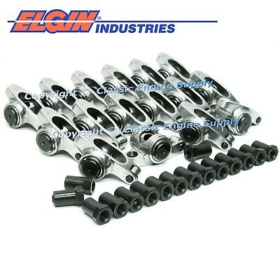 Stud Mount Stainless Roller Rocker Arms 1.7 Ratio For GM 5.7L & 6.0L LS1 LS2 LS6