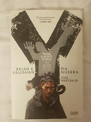 Y the Last Man Deluxe Edition Vol 1 Hardcover (bargain) (final price)