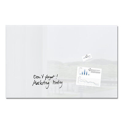 Sigel Artverum High Quality Tempered Glass Magnetic Board With Fixings 1000x650m