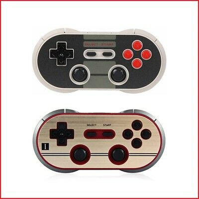 8Bitdo N30/F30 PRO Bluetooth Gamepad, Switch/macOS/Android/Windows/Rasp Pi