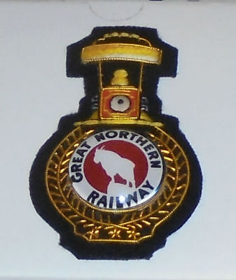 Train Great Northern St. Paul Seattle Patch Badge  Engine Locomotive Railroad RR