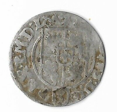 162? Silver Antique Thaler Rare Very Old Medieval Era Collection Coin LOT-US:Z50