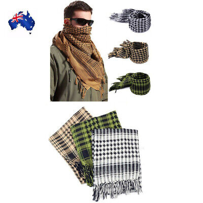 ARMY MILITARY TACTICAL SCARF Shemagh KeffIyeh Palestine Neck Scarf