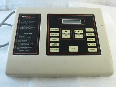 Working* Tracor Ra200 Microprocessor Audiometer Hearing Booth P/n 78825-0001 Usa