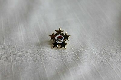 PIZZA HUT RESTAURANT 5 Star  Enamel Lapel or Hat Pin
