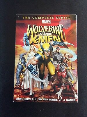 Wolverine and the X-Men: The Complete Series (DVD, 2010, 3-Disc Set)