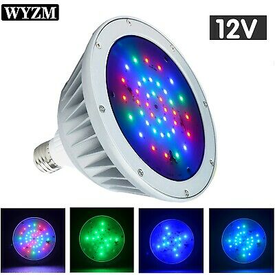 12V 20W/35W Color Changing Replacement Swimming Pool Lights Bulb LED PAR56 Light