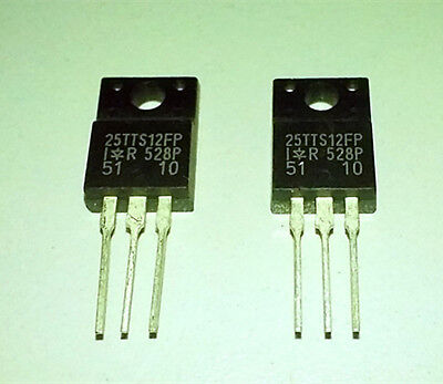 2PCS   25TTS12FP   25TTS12   TO-220F   Unidirectional  Silicon  Controlled  Chip