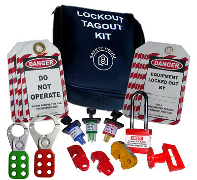 electrical lockout kit hasp mcb lock tags loto cabinet group lockout box