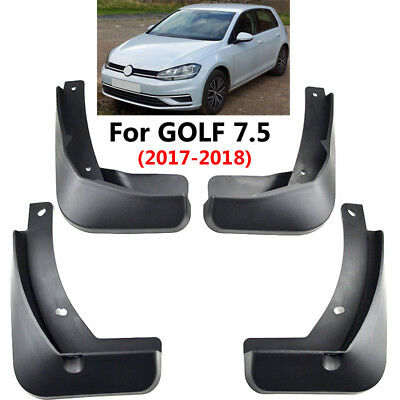 Set Mud Flaps For VW Golf 7.5 2018 2017 Golf 7 Splash Guard Front Rear Mudflaps