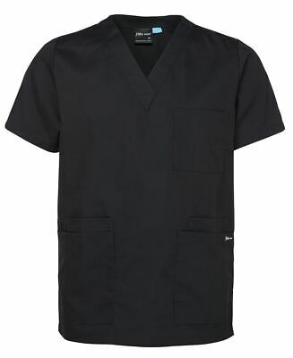 Jb's wear Unisex Adults Scrubs Top V-neck Top,Side Vents Chest Pocket Pen Insert