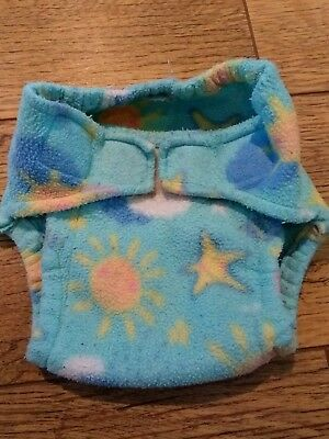 Seaddlebees fleece cloth nappy cover, size L. Rare pattern, was ordered from USA