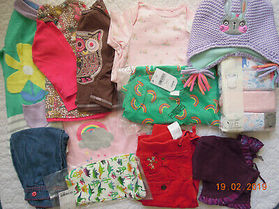 MultiListing 12-18 months BUILDA BUNDLE Baby Girls Clothes Vests Tops Leggings