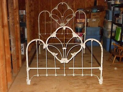 Antique Fancy Iron Bed
