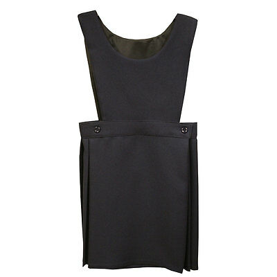 Girls School Uniform Pleated Pinafore Bib Dress (Winterbottom PIN112)