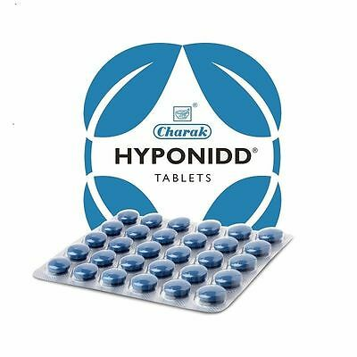 10 X Charak Hyponidd Herbal Tablets (10 X 30 TABLETS) / free shipping