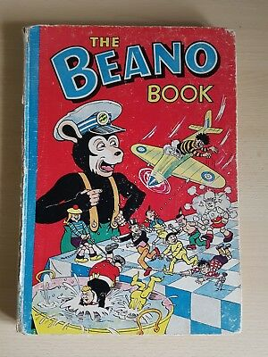 THE BEANO BOOK 1956.lovely condition see pictures please