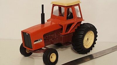 Ertl Allis Chalmers 7060 maroon belly 1/16 die-cast metal farm tractor replica